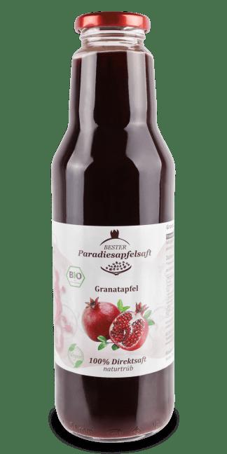 purer Granatapfelsaft